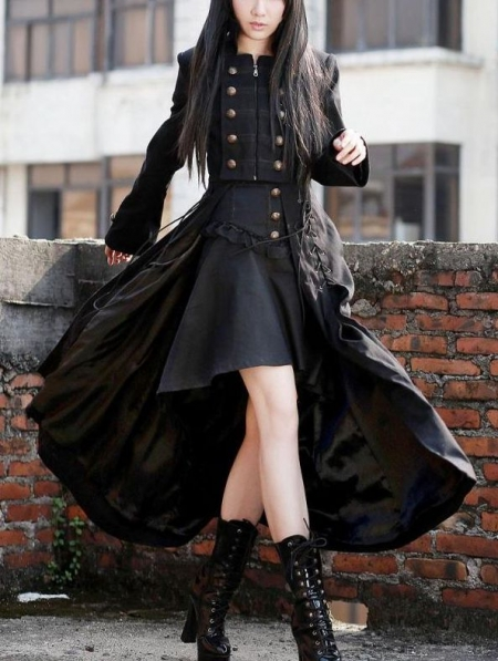 black-double-breasted-gothic-long-coat-for-women (2)